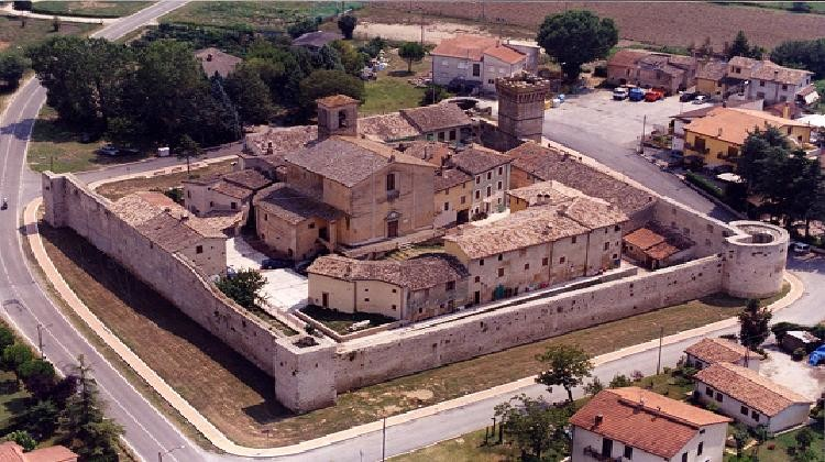 Castel san Giovanni a Castel Ritaldi