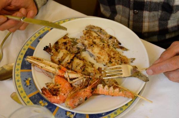 Maceratola (Foligno): Magnata de Pesce e Cucina del Territorio