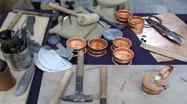 Artigianato rame e ferro