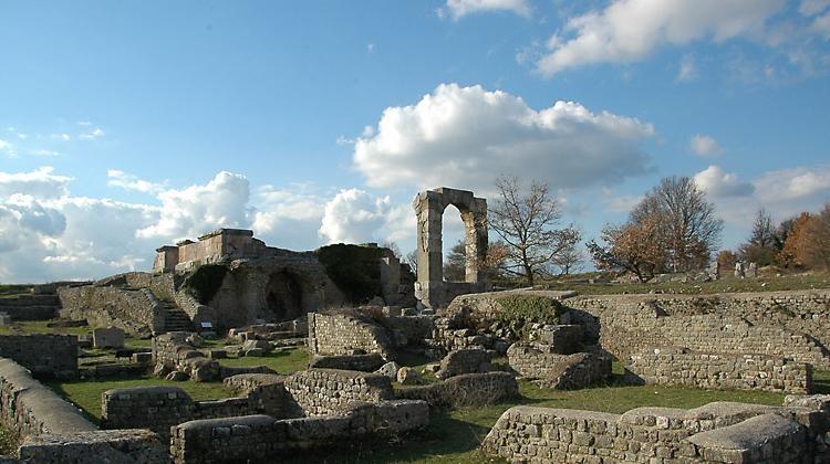 I romani in umbria
