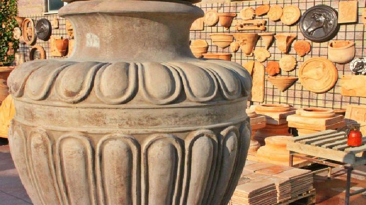 Lavorazione della terracotta