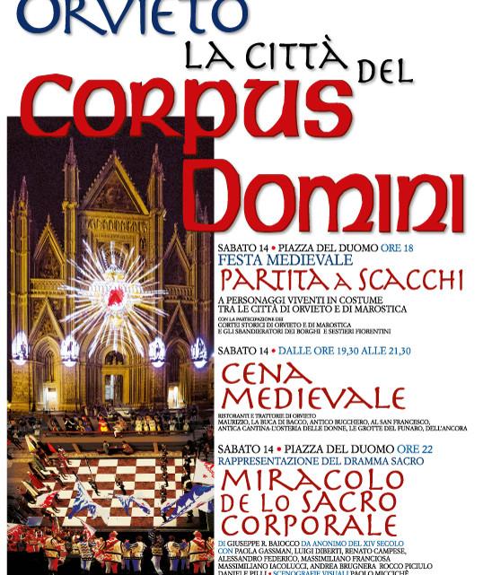 Orvieto la città del corpus domini