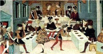 Banchetto Medioevale