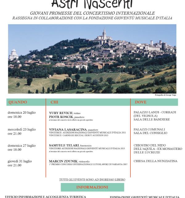 Astri_Nascenti_Todi_2014_Programma rassegna