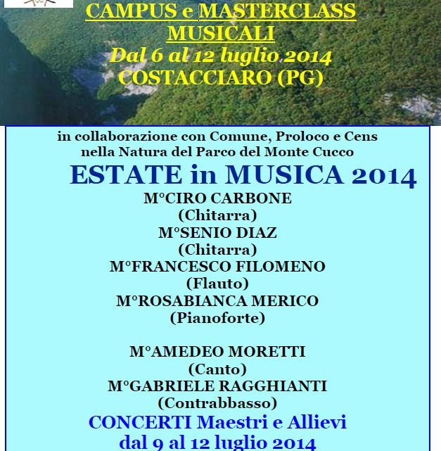 Estate in musica