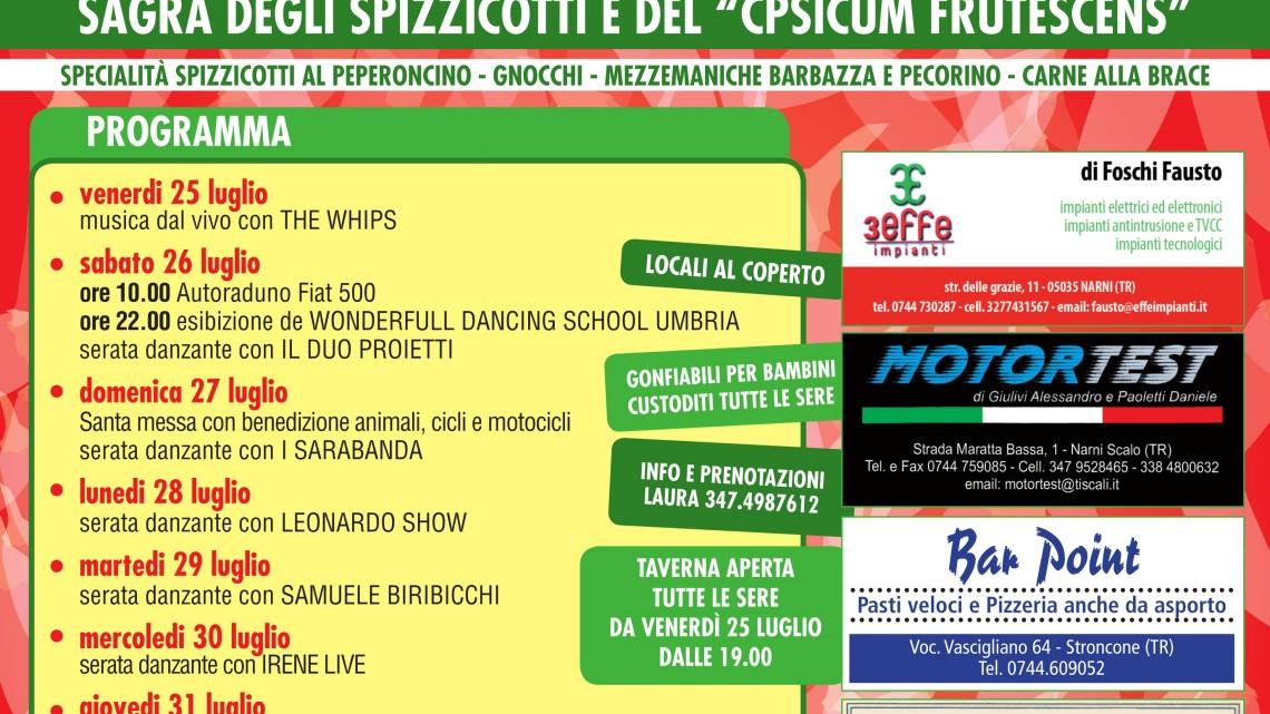 """Sagra degli spizzicotti e del """"Capsicum Frutescens"""""""