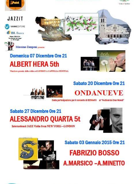 Christmas Spoleto Jazz