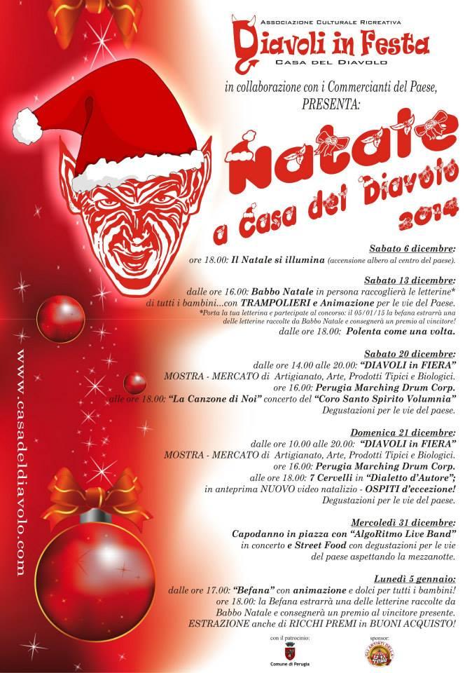 Babbo Natale 7 Cervelli.Casa Del Diavolo Perugia Natale A Casa Del Diavolo Umbriaturismo