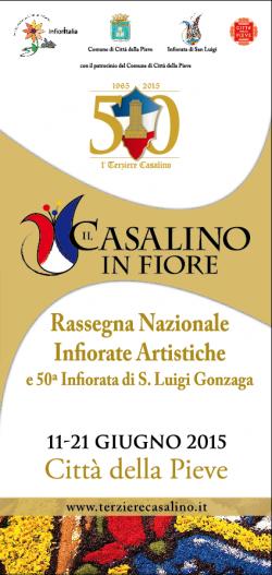 Rassegna nazionale infiorate artistiche e 50^ infiorata di S. Luigi Gonzaga
