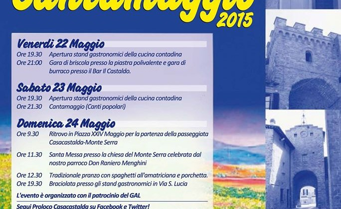 cantamaggio 2015