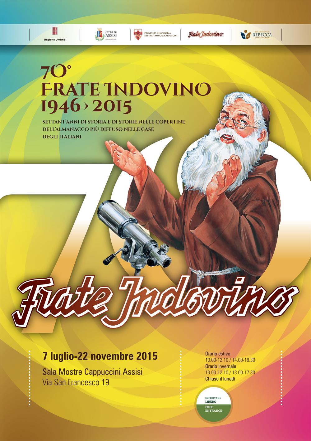 Il Calendario Di Frate Indovino.Assisi Frate Indovino Umbriaturismo