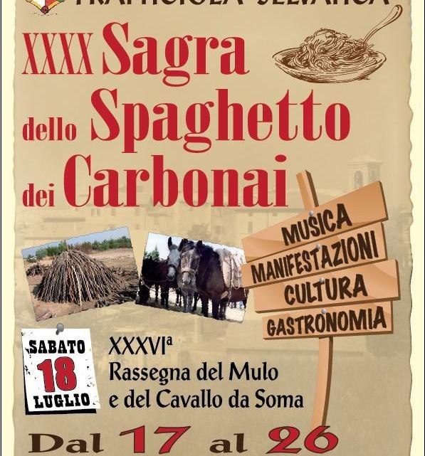 sagra dello spagheto dei carbonari