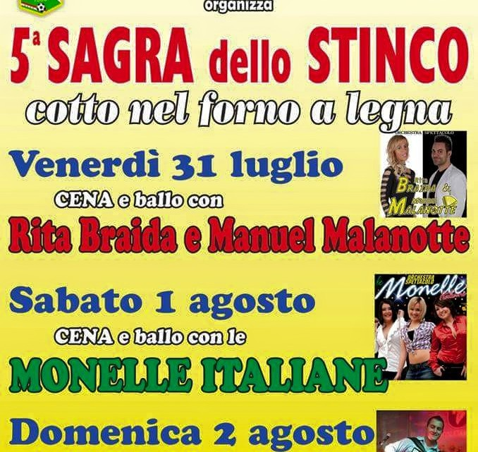 sagra dello stinco