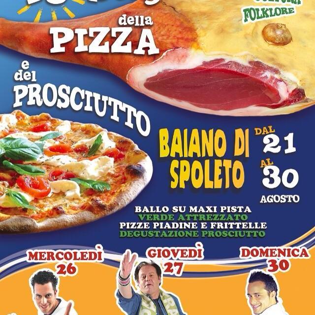 sagra della pizza e del prosciutto
