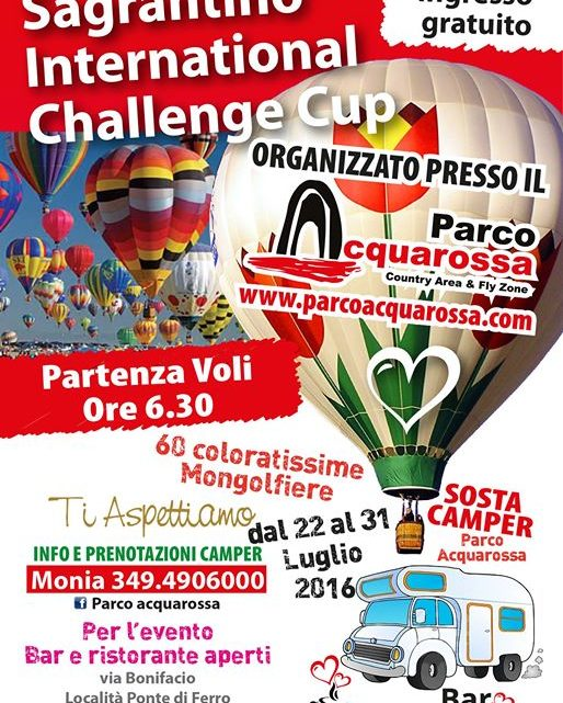 Sagrantino Italian International Cup.