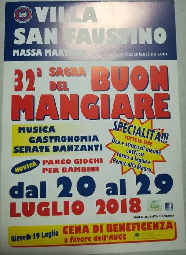 Sagra Del Buon Mangiare Villa San Faustino