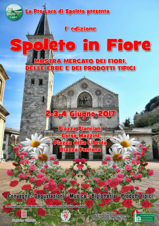 Spoleto in fiore umbriaturismo for Mostre mercato fiori 2017