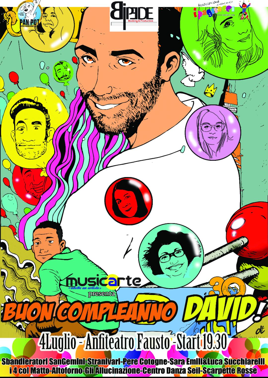 Terni Buon Compleanno David Umbriaturismo