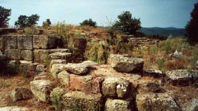 Area archeologica collemancio a Cannara