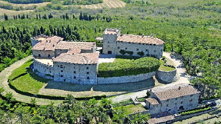 Castello di Montegiove a Montegabbione