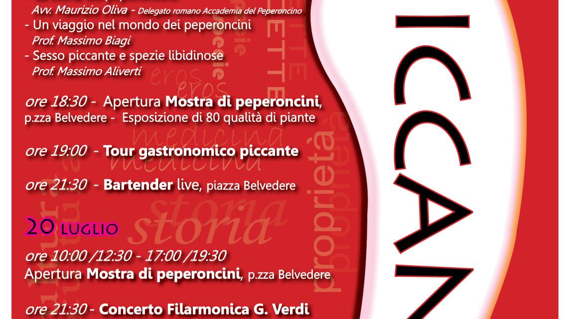 locandina piccante med