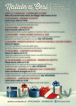 natale a Cesi