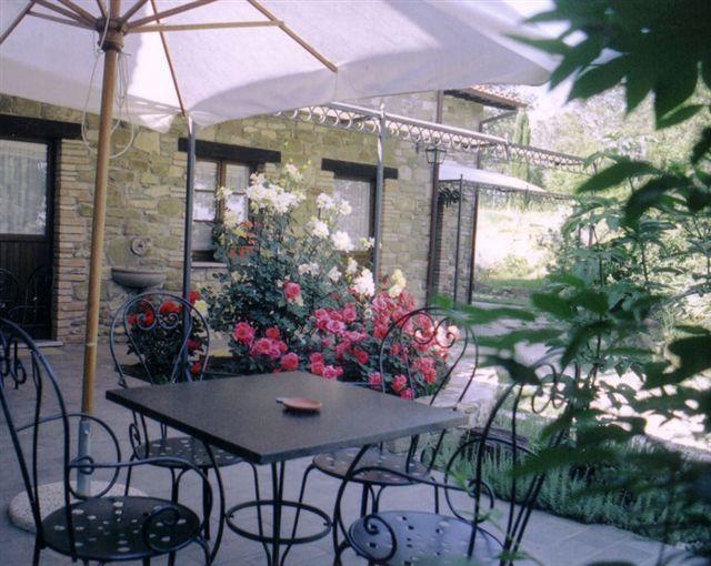 2 il giardino dove si affacciano le camere