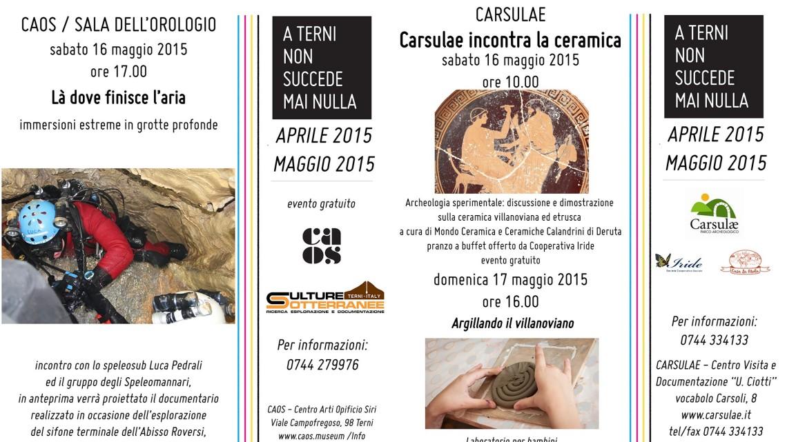 Immagine Newsletter weekend 16-17 maggio 2015