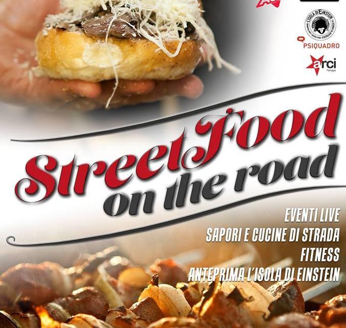 street food on the road