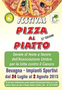 festival pizza al piatto